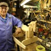 Bratton toymaker packs away his tools