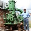 100 year old engine runs again!