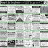 White Horse News 'Keep it By the Phone' Feature 2014