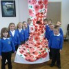 Westbury Infants' artwork on display at town festival