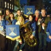 Bratton Silver Band  perform for 'Countryfile'