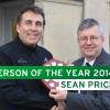 Sean Price is Westbury's Person of the Year 2014