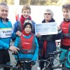 Westbury runners and cyclists climb height of Everest in support of sailing club