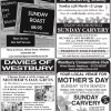 Mother's Day Pullout 2015