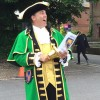 Town Crier goes out with a bang with 12 cries made around the town