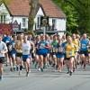 Sun shines for 20th Bratton Hilly Run