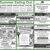 Summer Dining Feature 2016