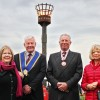 Beacon lit for Queen's 90th birthday