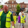 Westbury Lions and Leos tidy the town