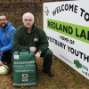 First aid trainers sponsor new sign for young footballers