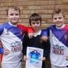 Brand new football kit for Westbury Juniors thanks to pupil's  winning design