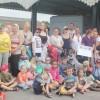 Westbury families enjoy a free trip to the seaside