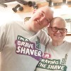 Hair today, Gone tomorrow! Mother and son lose their hair and raise £1,000 for charity