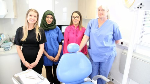 Relief as NHS dentist opens in Westbury