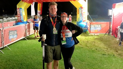 Fundraisers complete challenging 55km walk