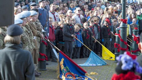 'Lest we forget' Westbury Remembers