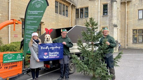 Book your tree in for Dorothy House's charitable Christmas Tree Collection