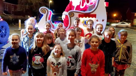 Christmas float raises an 'outstanding' £7,259 for the community