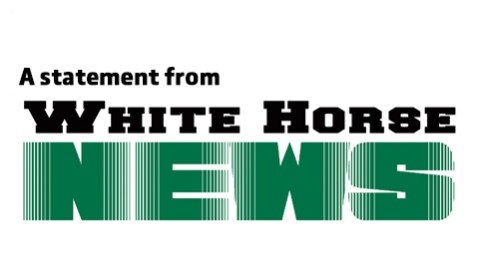 A statement from White Horse News
