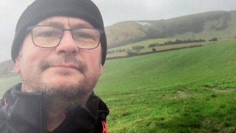 Alex's 800-mile  walking challenge for charity