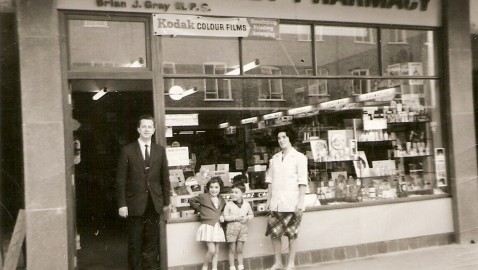 The 'new' Westbury High Street 1964 – what was it like and what was there before?