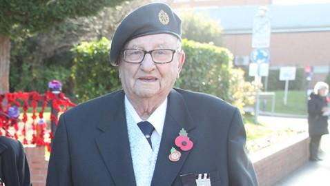 Tribute to community stalwart & poppy appeal organiser, Bill Prior