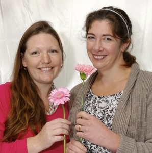 Victoria and Serena of Andrea's Flowers