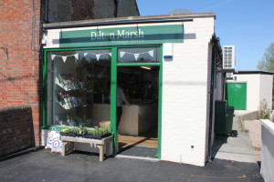 The new Dilton Marsh shop.