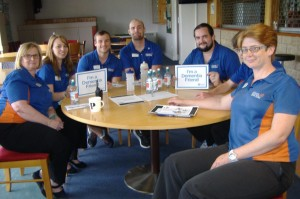 Staff at Leighton Recreation Centre learn about dementia care