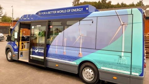 New eco-friendly E-Bus proposal to link Westbury and Frome